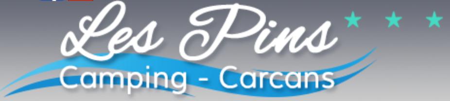 logo camping les pins carcans