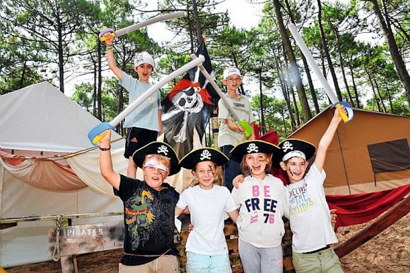 animation camping estivale enfant maquillage déguisement
