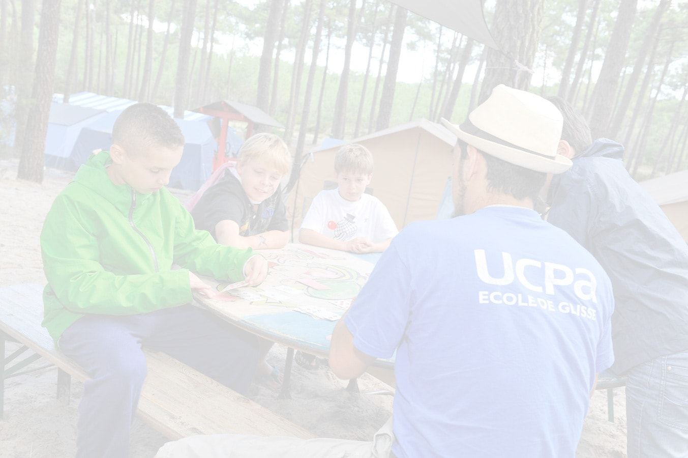 UCPA camping estival animation