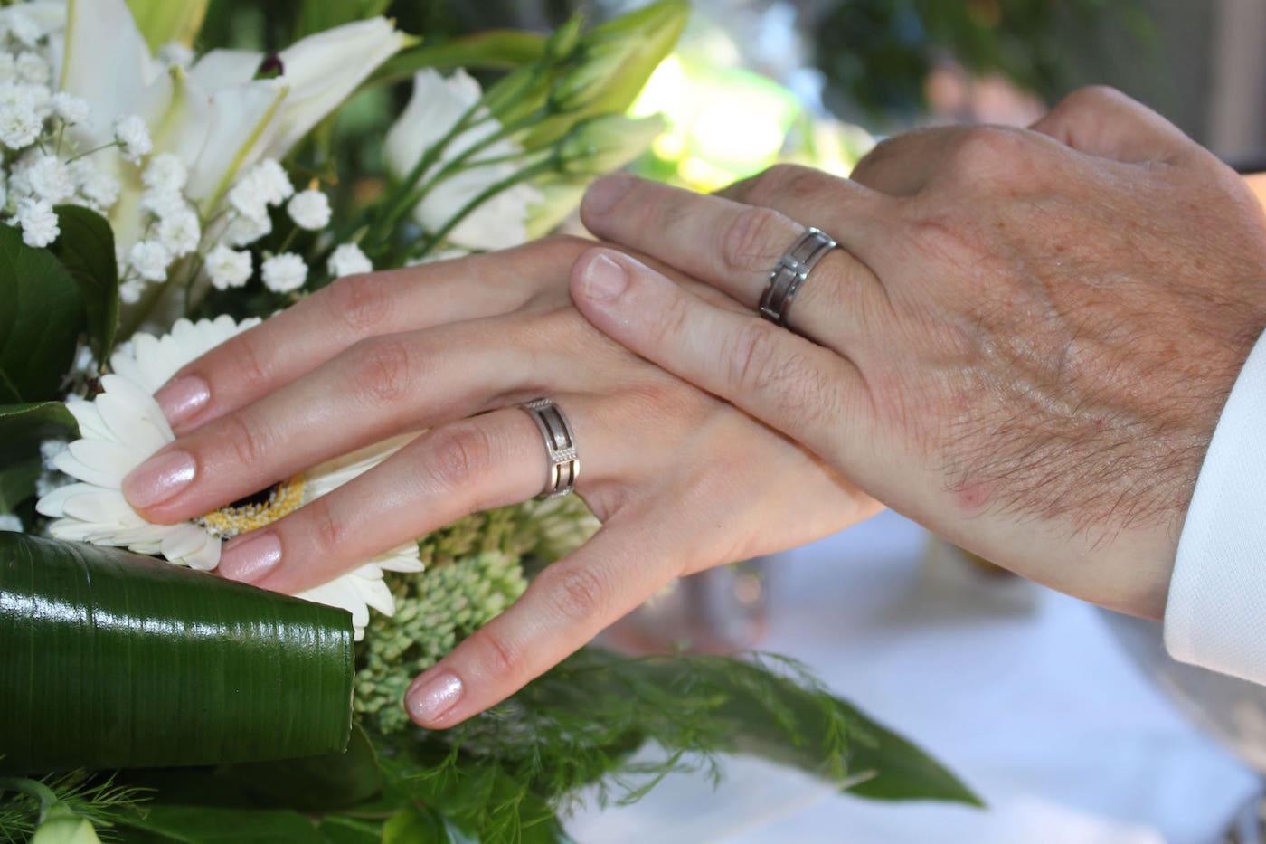 alliance mariage estival