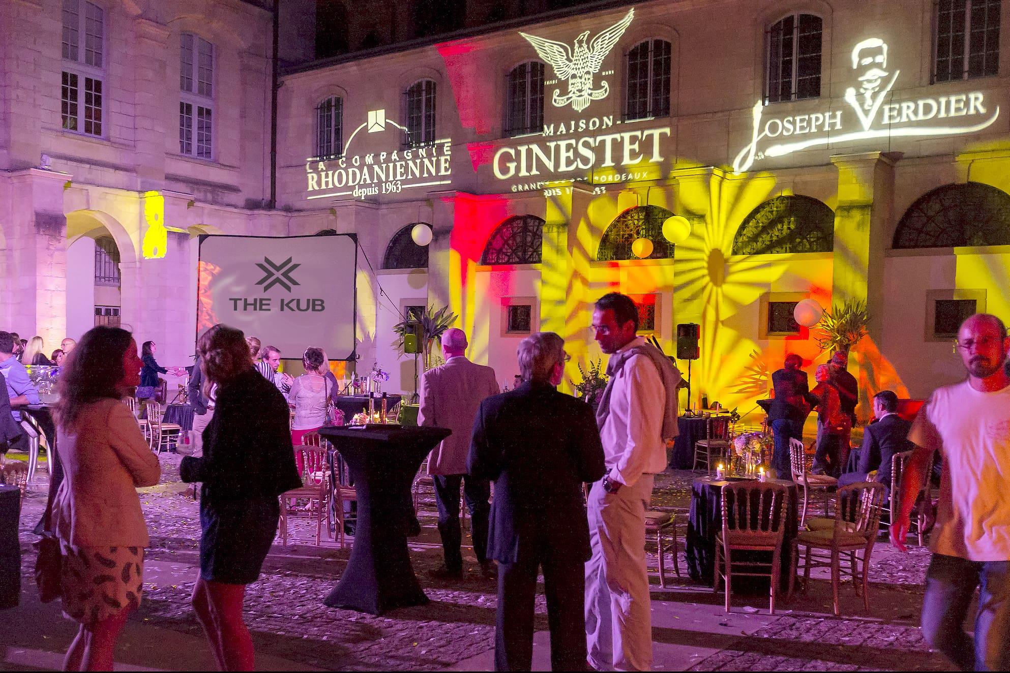 evenement soiree ginestet the kub mise en lumière