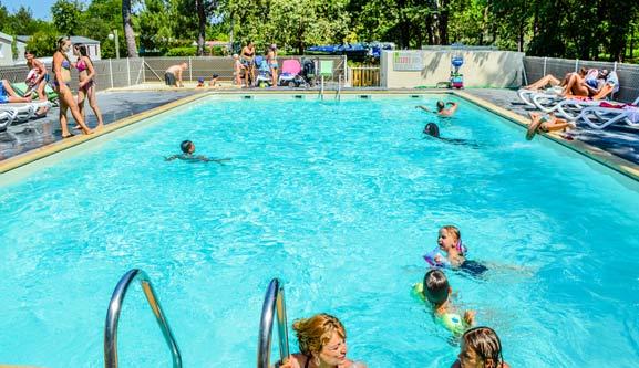 Soci t als camping 3 etoiles avec piscine gironde for Camping blois avec piscine