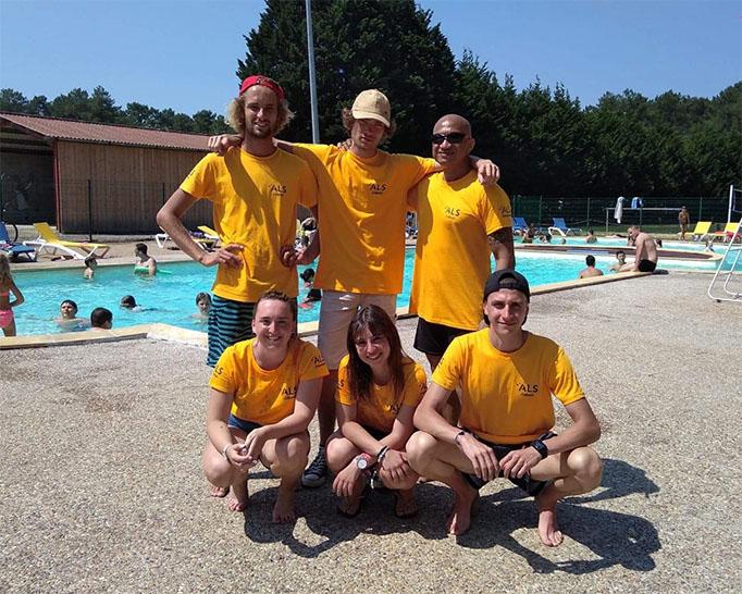 Equipe d'animation ALS Estival 2018 - Camping le Tatiou